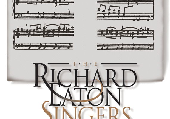Logo design and Easter concert poster for The Richard Eaton Singers choral group