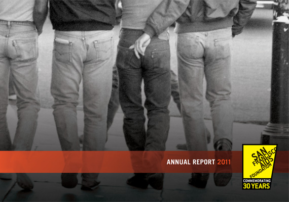 2011 annual report for San Francisco AIDS Foundation. See the full report at www.sfaf.org/about-us/financial-information